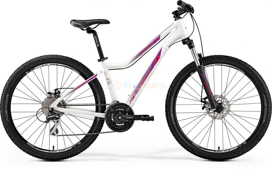 Велосипед женский Merida Juliet 6.20-MD (2019)