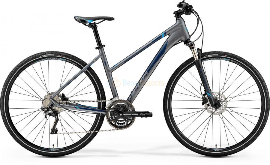 Велосипед женский Merida Crossway 500 Lady (2019)