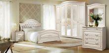 Спальня ВЕНЕРА 5-дверный шкаф, эмаль