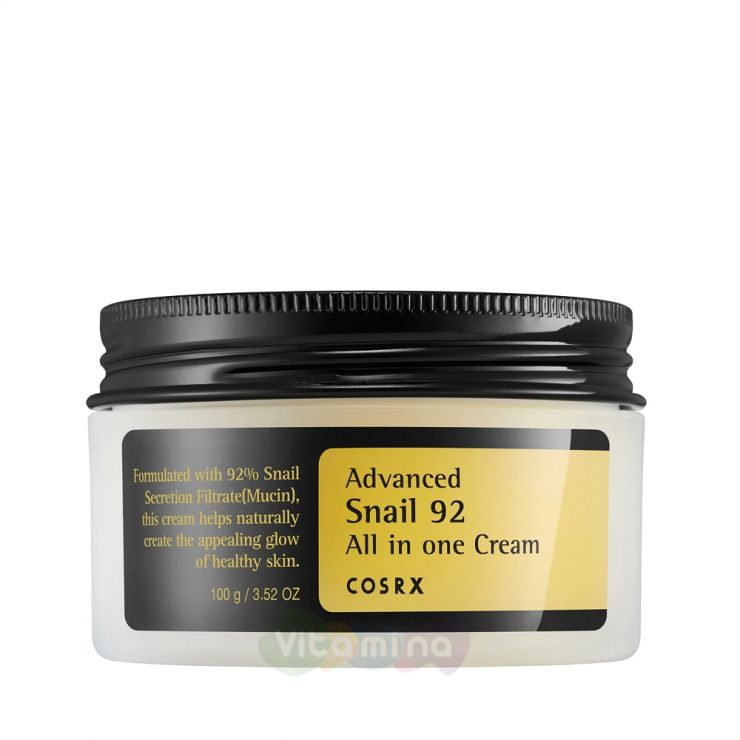 CosRX Крем для лица с фильтратом улитки Advanced Snail 92 All In One Cream, 100 г