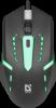 Проводная оптическая мышь Hit MB-601 7цветов,4кнопки,800-1200dpi
