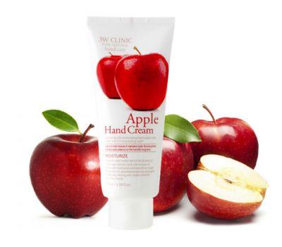 Крем для рук Яблоко Гладкость и Блеск 3W Clinic Moisturizing Apple Hand Cream 100мл