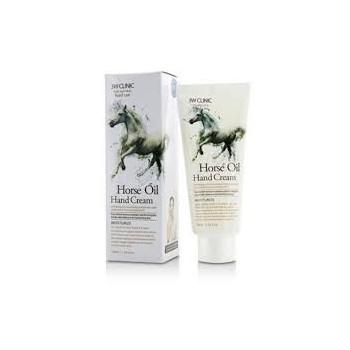 3W Clinic Moisturizing Hand Cream Horse Oil Крем для рук с лошадиным маслом 100мл