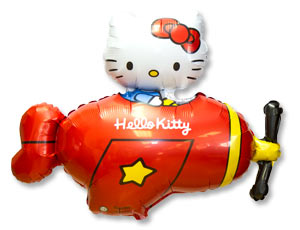 Фигура Hello Kitty самолет