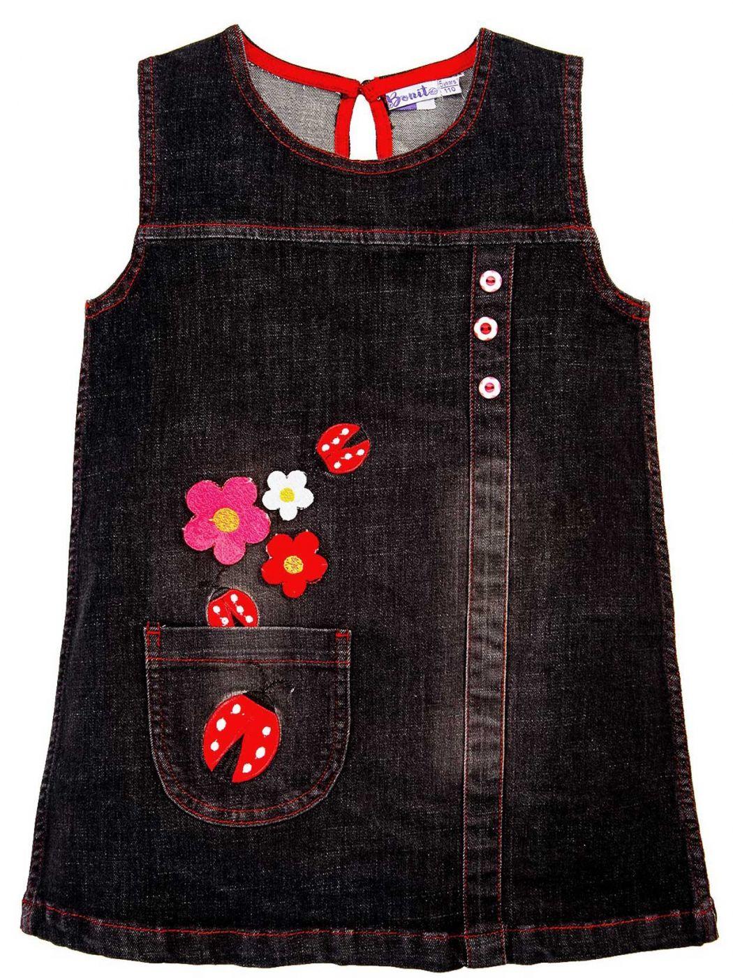 Платье джинсовое для девочек 2-5 лет Bonito BJ768P4