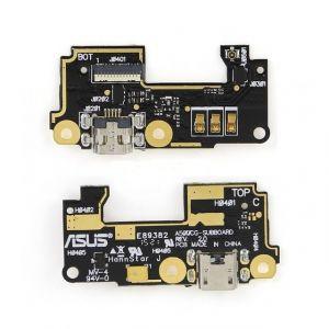 FLC (Шлейф) Asus A500CG ZenFone 5/A500KL ZenFone 5/A501CG ZenFone 5 (на микрофон и системный разъём) Оригинал