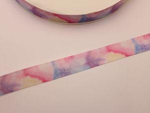 `Лента репсовая с рисунком, ширина 22 мм, ЛР5716