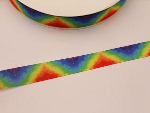 `Лента репсовая с рисунком, ширина 22 мм, ЛР5717