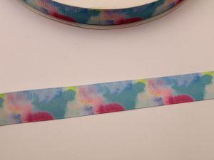`Лента репсовая с рисунком, ширина 22 мм, ЛР5732