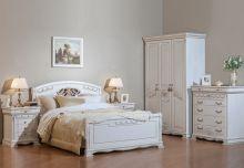 Спальня ЛАУРА 3-дверный шкаф, эмаль