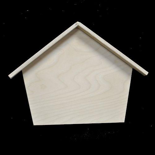 Ключница классическая с крышей