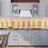 Фартук для кухни -  Чертеж архитектора | интерьерные наклейки