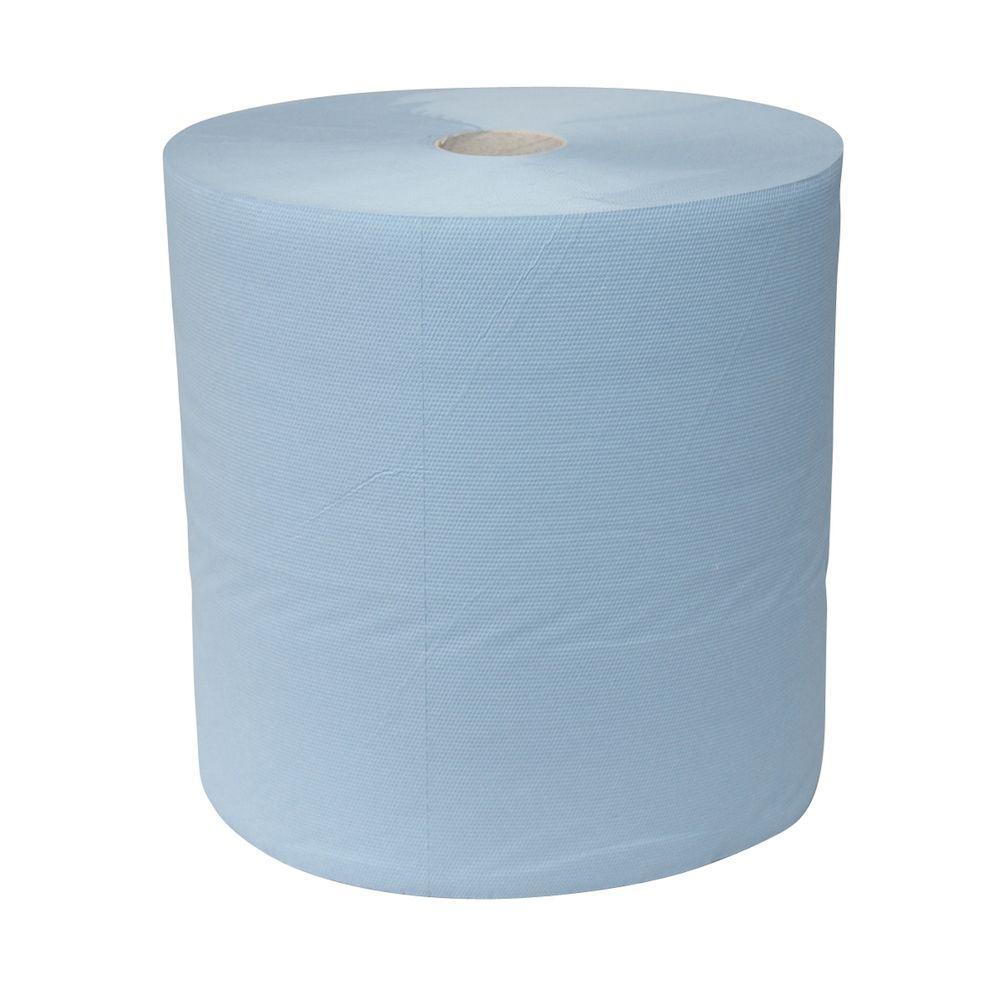 Isistem Бумага протирочная ICLEAN ECO, голубая, 2-сл., 22см. х 36см., (рулон 600 шт.)