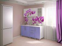 """Кухня """"Сиреневая орхидея"""" ЛДСП/МДФ 1,6 м.,2,0 м."""