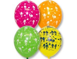 Школьные дисциплины шар латексный с гелием