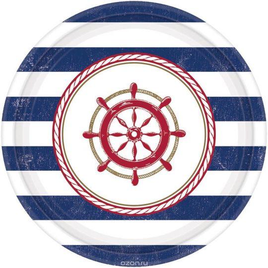 Тарелки Морские