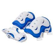 SILAPRO Набор защиты двухцветный (колени, локти, запястья), размер S, пластик