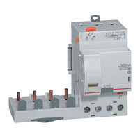 410644 Дифф.блок защиты DX3 125A 4П Hpi регул 300-1000mA для авт.выкл. шириной 1,5 модуля Legrand