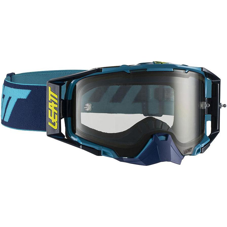 Leatt Velocity 6.5 Ink/Blue Light Grey 72%, очки синие