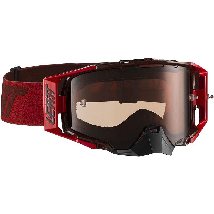 Leatt Velocity 6.5 Ruby/Red Rose UC 32%, очки красные