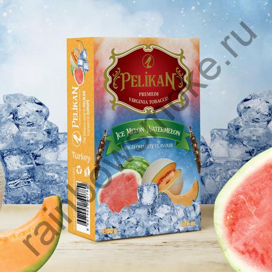Pelikan 50 гр - Ice Melon Watermelon (Дыня, Арбуз со Льдом)