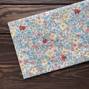 Ткань с россыпью цветов