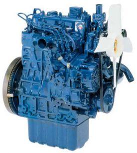 Дизельный двигатель Kubota D1105