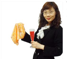 Хамелеон бокал (18 см) - Colorchange Champagne