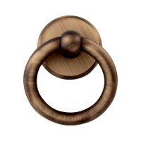 Ручка-гонг на входную дверь Melodia 600 Ring. бронза матовая