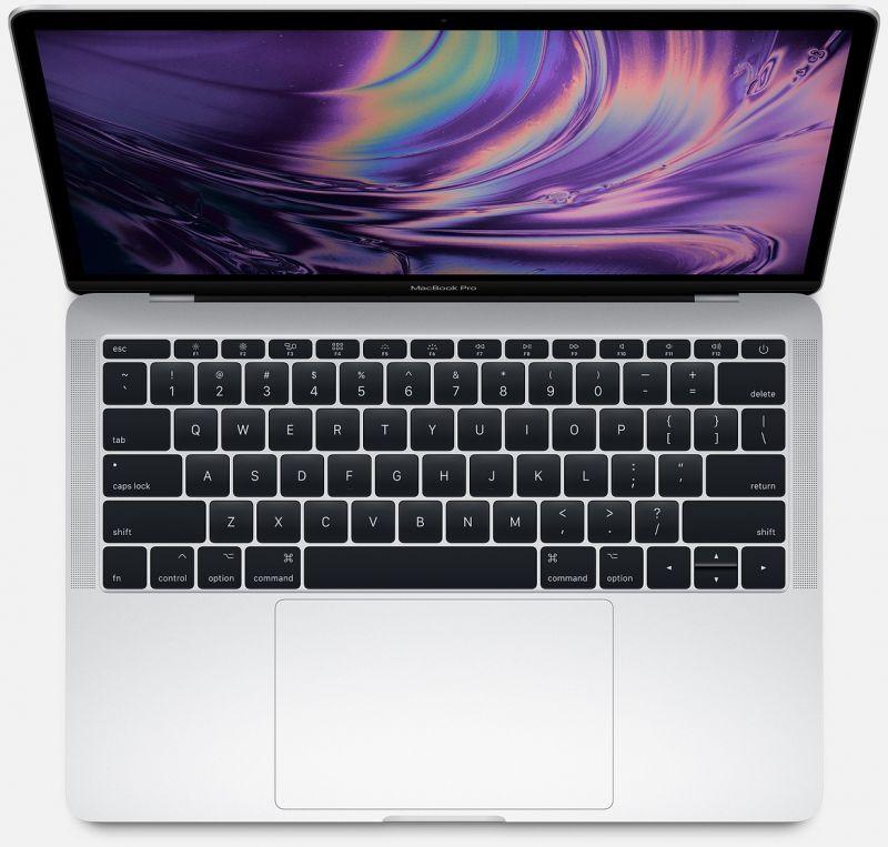 Apple MacBook Pro 13 256Gb Silver (MPXU2)