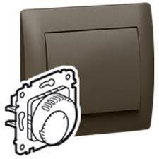 Термостат комнатный Legrand GALEA LIFE, темная бронза, 775692