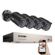 Комплект видеонаблюдения ZOSI 4 камеры