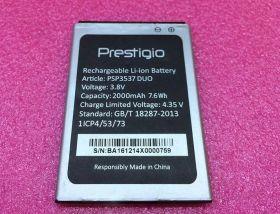 Аккумулятор для телефона Prestigio PSP3537DUO Wize NV3 2000 мАч оригинал