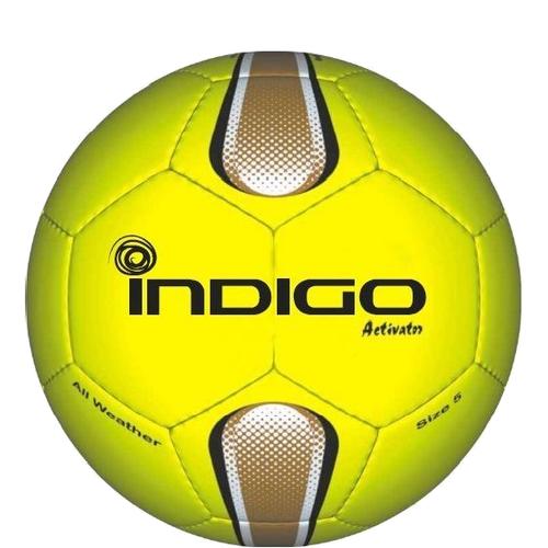 Мяч футбольный №5 INDIGO ACTIVATOR E00 всепогодный