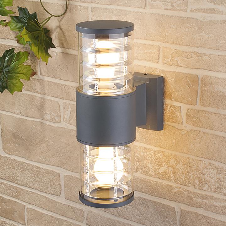 Уличный настенный светильник Elektrostandard 1407 TECHNO серый