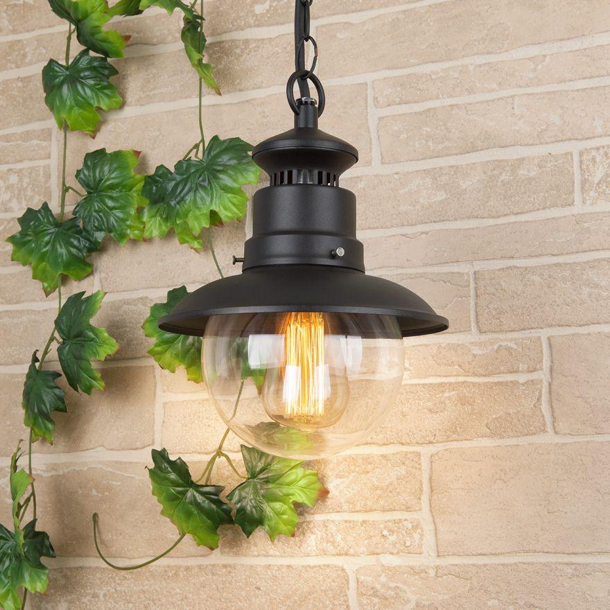 Уличный подвесной светильник Elektrostandard GL 3002H Talli H черный