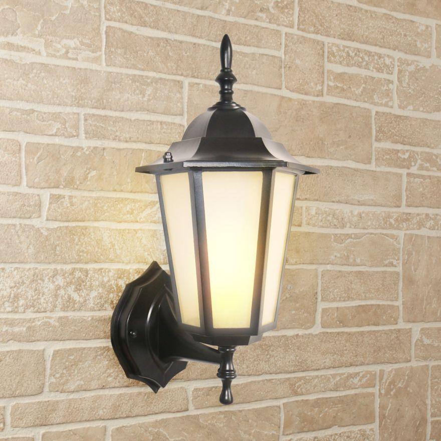 Уличный настенный светильник Elektrostandard GL 1004U черный