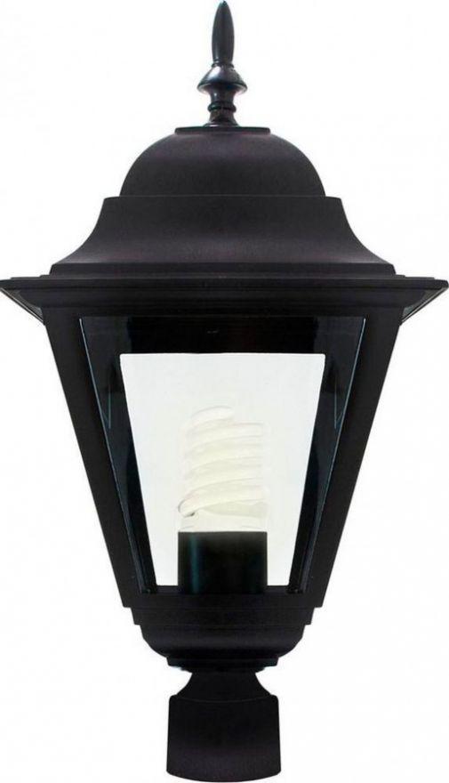 Светильник садово-парковый Feron 4203 четырехгранный на столб