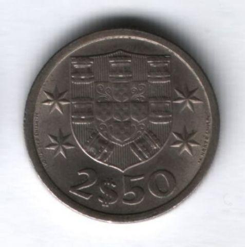 2,5 эскудо 1964 года Португалия AUNC