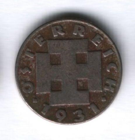 5 грошей 1931 года Австрия