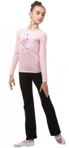 Футболка с длинным рукавом (ярко-розовая балерина) BA654.2 Solo
