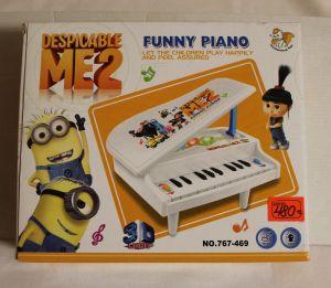 ! пианино 23см, ячейка: 4