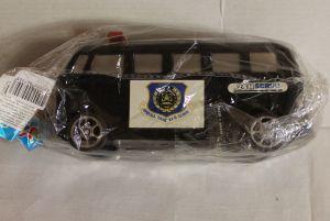 ! машина полиция черн 17см, ячейка: 35