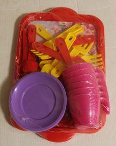 ! набор чайн посуды 6перс, ячейка: 39