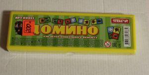 ! домино пластмас звери, ячейка: 44