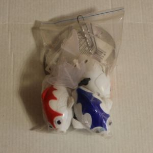 ! заводн рыбки бел 3шт плав, ячейка: 51