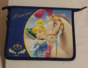 ! папка для тетр на молнии принцессы, ячейка: 57