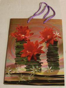 ! пакет с ручками 3крас цв, ячейка: 62