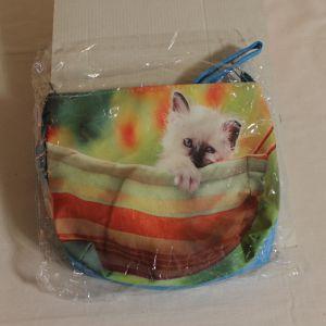 ! сумка детс котенок длин руч кожзам, ячейка: 71