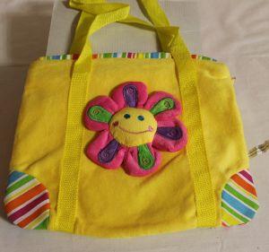 ! сумка мягк желт цвет кор руч, ячейка: 71